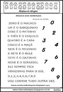 Música dos numerais