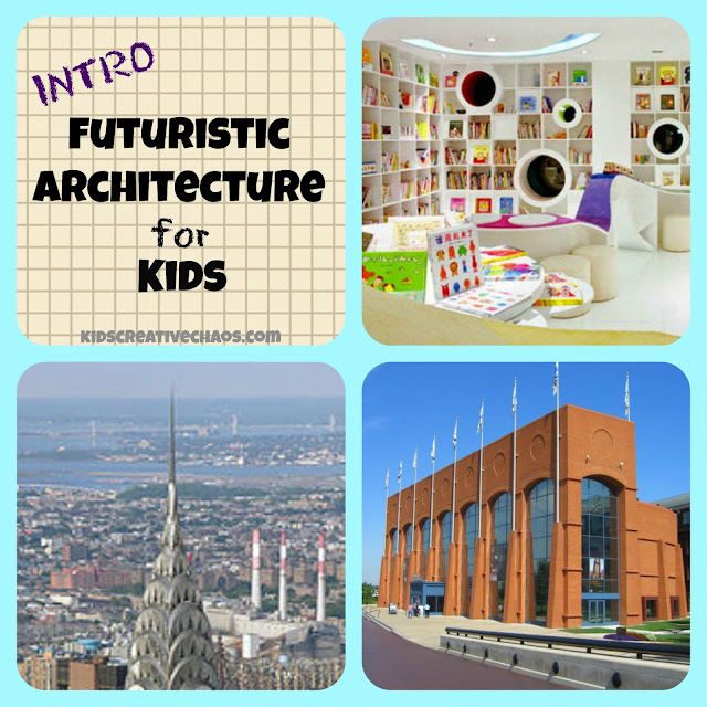 Futuristic Architecture for Kids Lesson