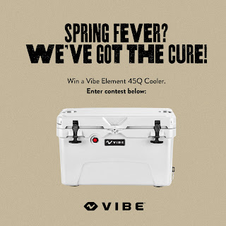 Enter the VIBE Cooler Giveaway. Ends 3/15