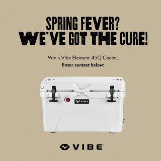 Enter the VIBE Cooler Giveaway. Ends 3/15