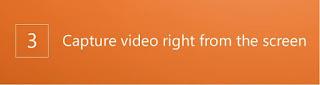 التقاط فيديو من الشاشة