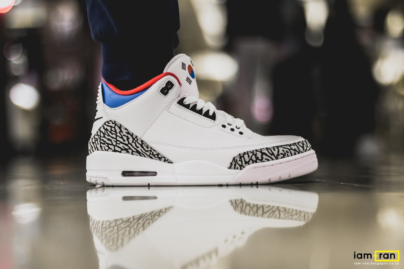 huge discount 4533c 49bdb IAM-RAN: ON FEET : Winston - Nike Air Jordan 3