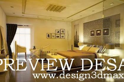 Jasa design interior kamar tidur Master Bed Room Elegant