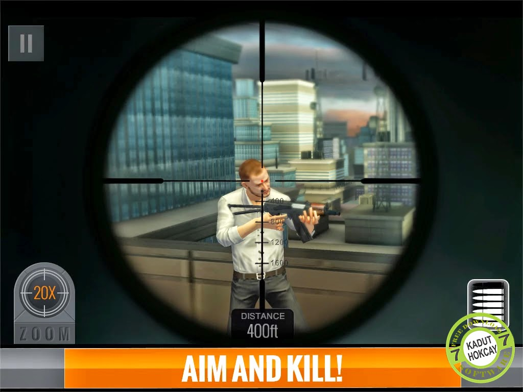 Sniper 3D Assassin MOD ( Unlimited Money ) Apk+Data