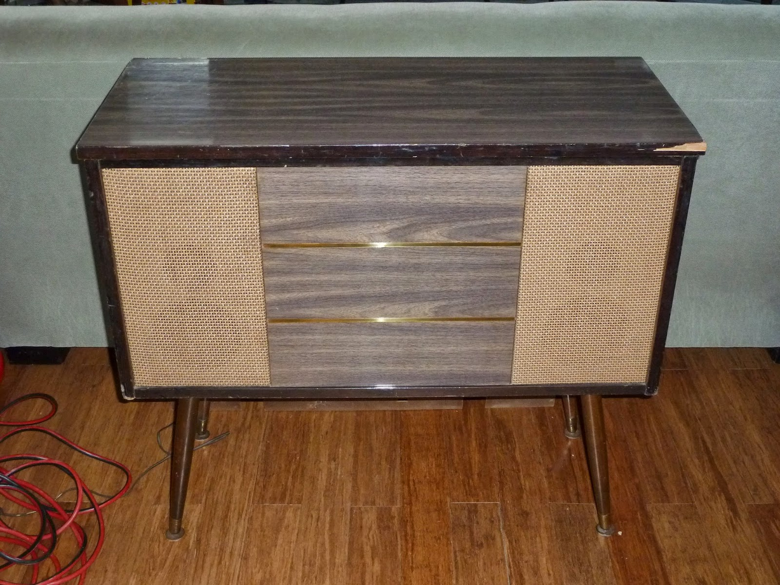 Old To New Again: Delmonico Mid Century Stereo Console - Updated