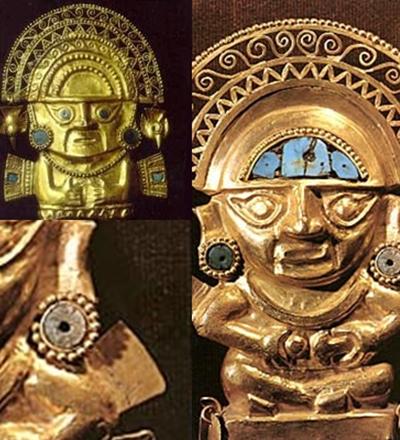 Deus do sol Inca - Sorriso na Web