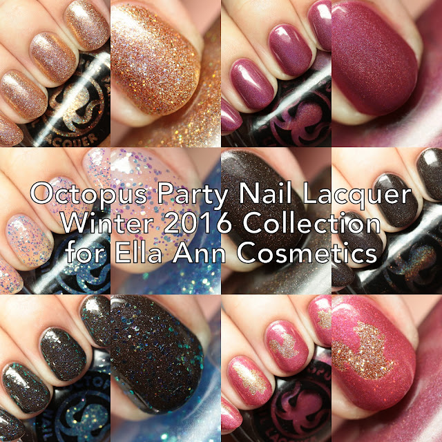 Octopus Party Nail Lacquer Winter 2016 Collection