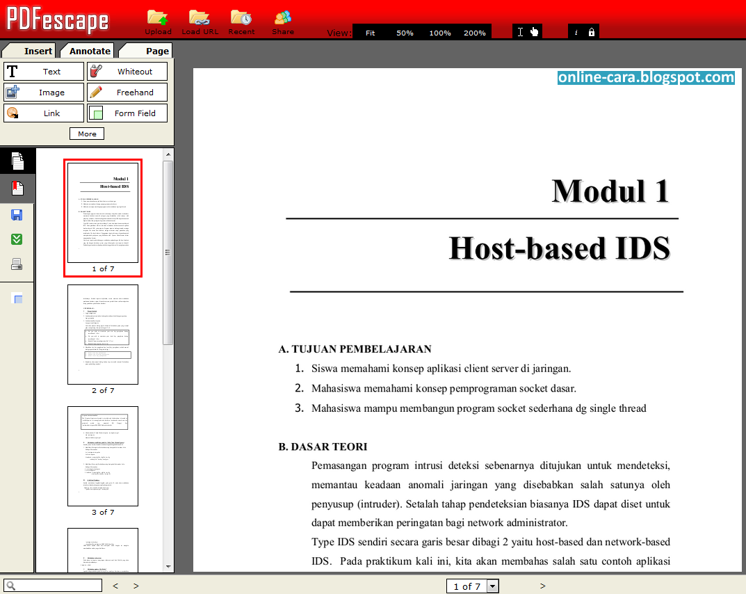 join 2 pdf files online