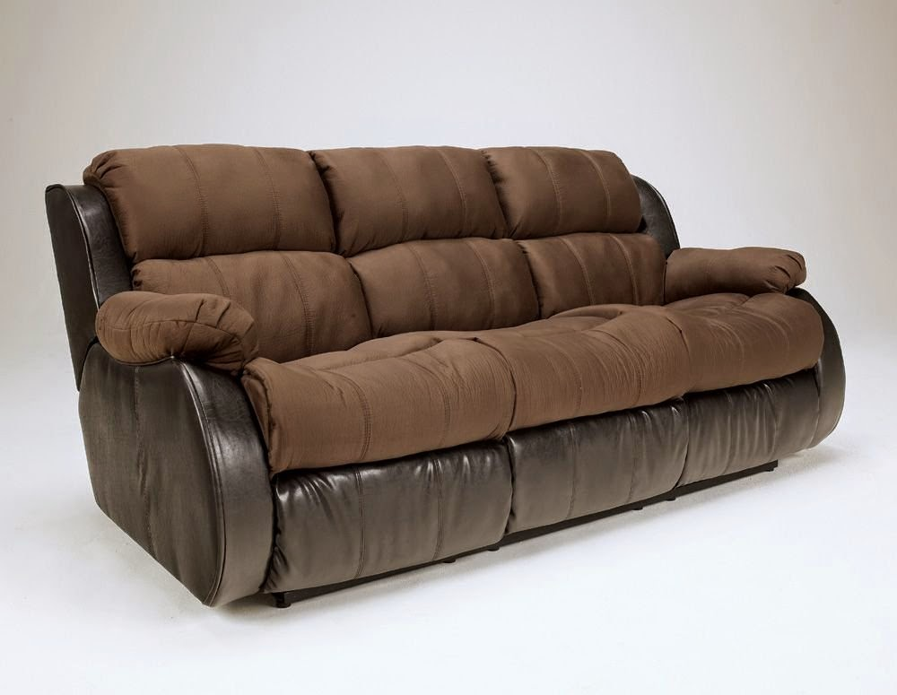 Cheap reclining sofa and loveseat sets april 2015 for Sectional sofa with bed and recliner