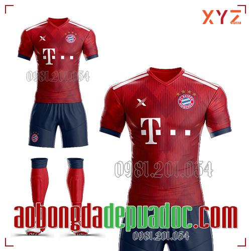 Áo Bayern Munich 2019 Sân Nhà
