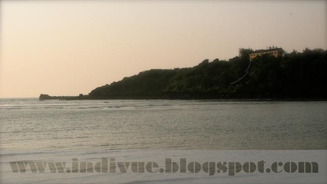 Tiracol Fort, Goa, Intia