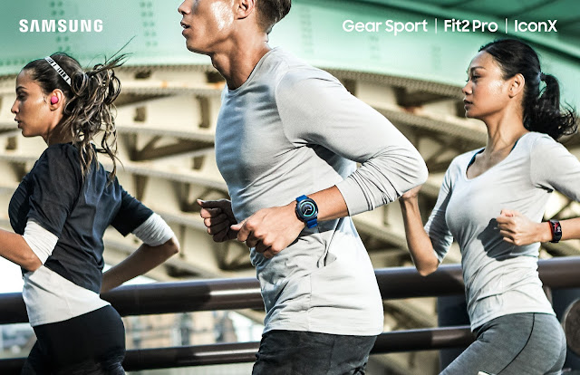 The New Gear Sport: A new versatile smartwatch to support an active and balanced lifestyle