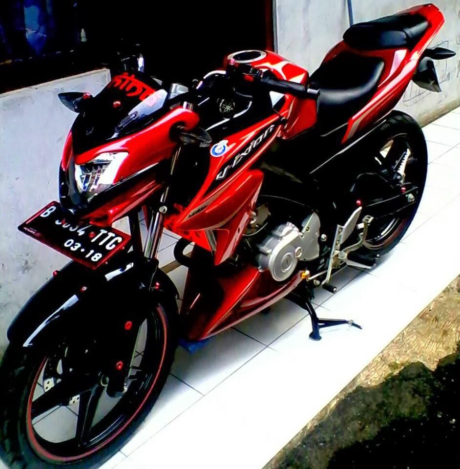 62 Foto Modifikasi Motor Vixion Baru Terkeren Teka Teki Motor