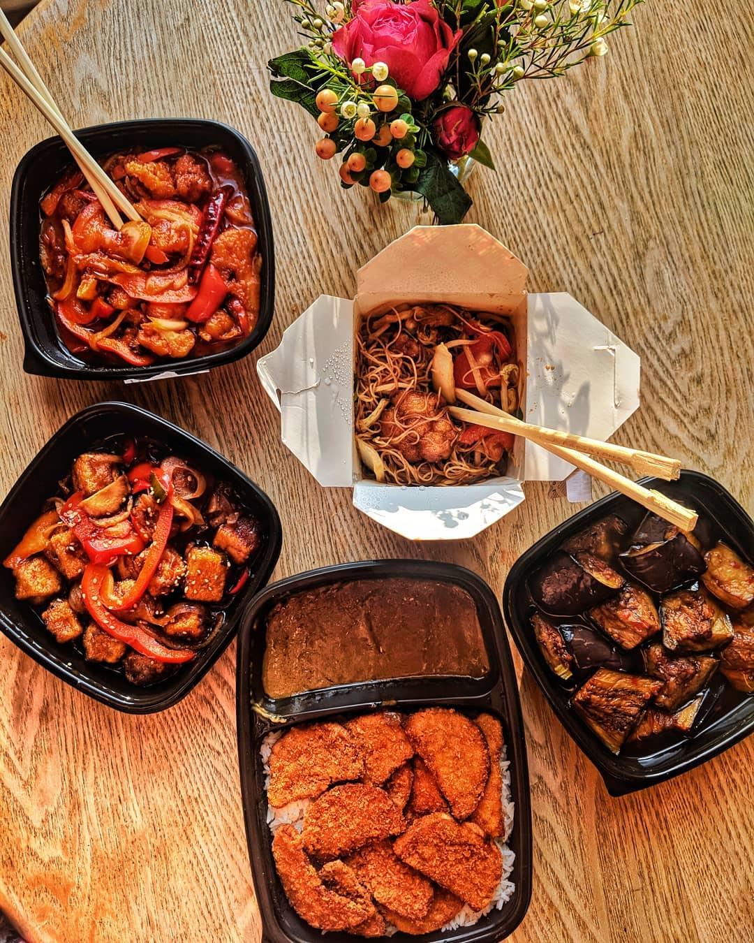 Zing Zing vegan Chinese takeaway