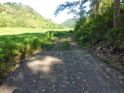 Jalan Desa Nggalak Kecamatan Reok Barat Kabupaten Manggarai Provinsi NTT