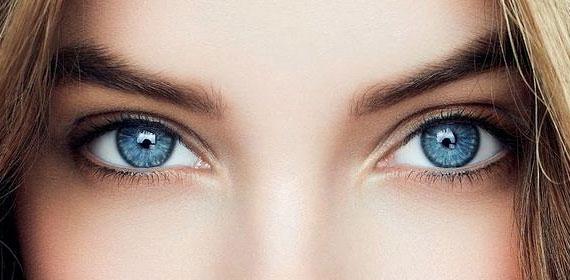 mavi renkli gözler