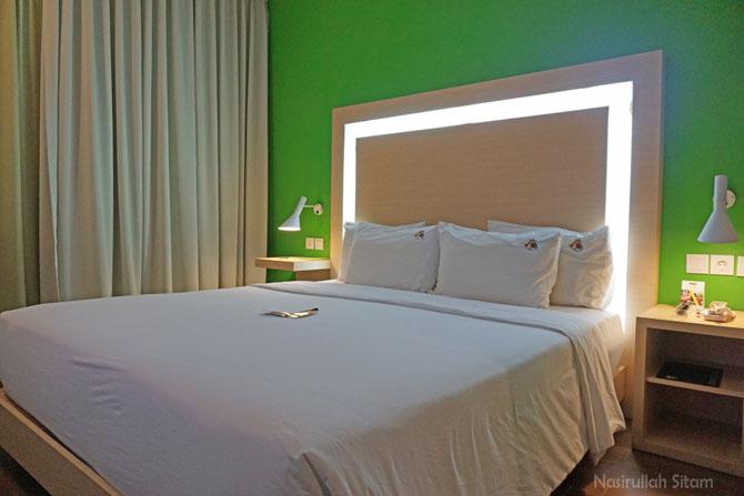 Menginap semalam di MaxOne hotel Belitung