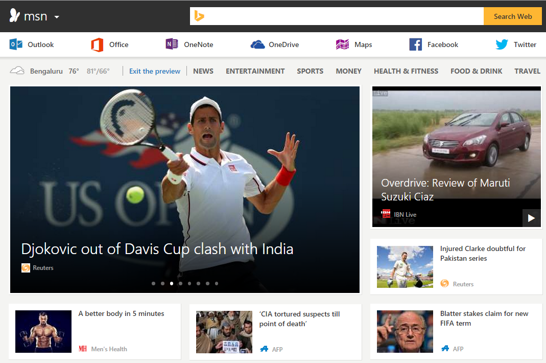 Microsoft Introduces New MSN After Makeover