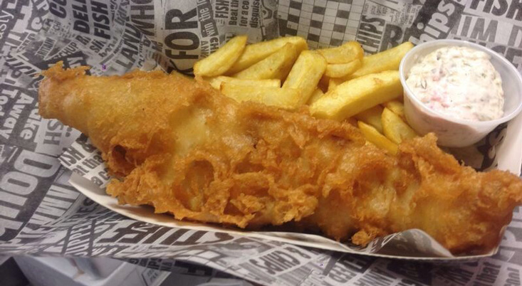 Gandey world class productions national fish and chip day for Fish and chips newspaper