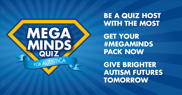 #MegaMinds quiz night for Autistica #ASD #Autism