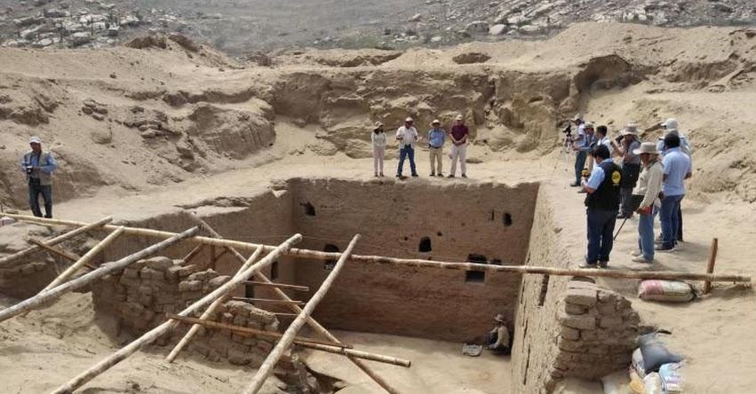 Hallan monumental tumba de época inca en sitio arqueológico Huaca Rajada-Sipán en Lambayeque