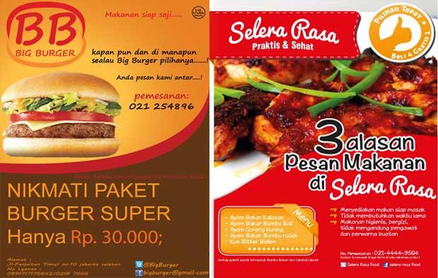 Contoh Iklan Produk Makanan