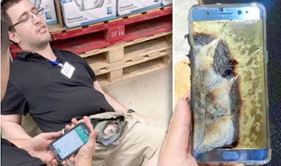 """Samsung issues red alert to users: """"Turn off your Galaxy Note 7 phone NOW!"""""""
