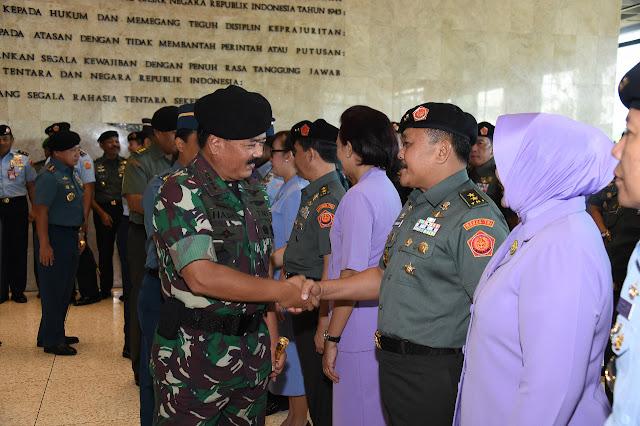 33 Perwira Tinggi TNI Naik Pangkat, Berikut Daftar Lengkapnya