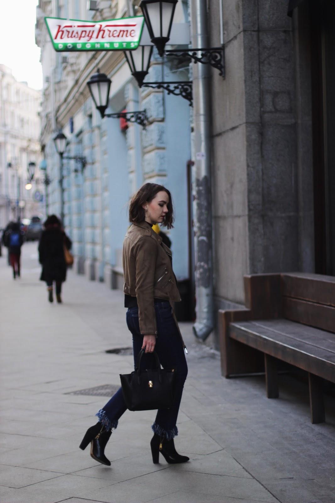 Suede Jacket | Street Style | Fashion Blogger
