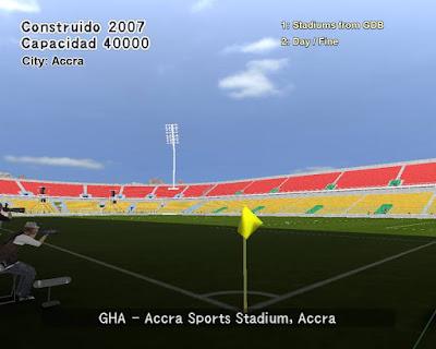 PES 6 Stadiums Accra Sports Stadium
