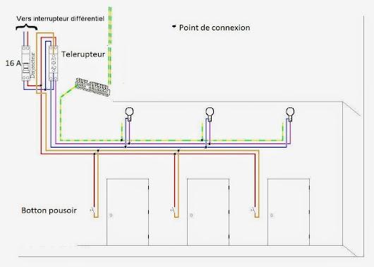 Electricite google - Schema electrique telerupteur ...