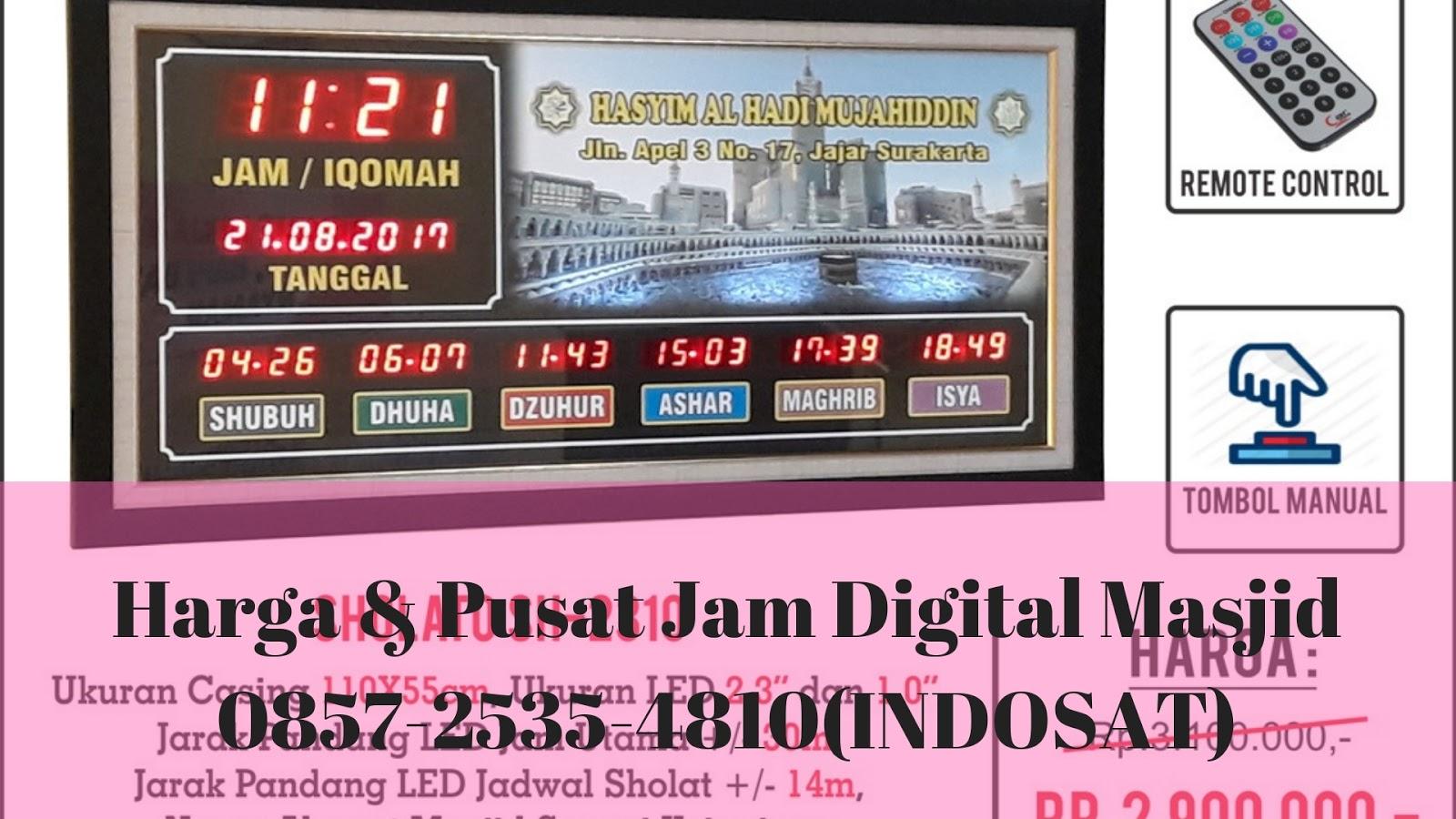 0857 2535 4810 Wa Tlp Pusat Jual Dan Beli Jam Masjid Digital