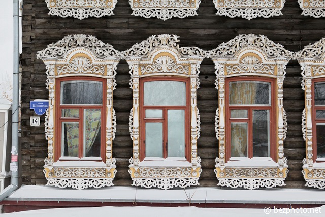 томск деревянные дома