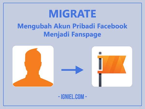 Migrate: Mengubah Akun Pribadi Facebook Menjadi Fanspage