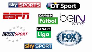 IPTV m3u Sports channels Bein Sport Sky 16.10.2017