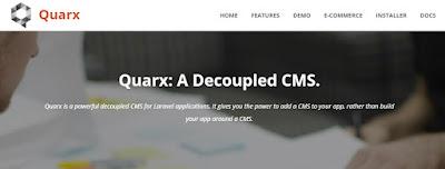 Quarx CMS