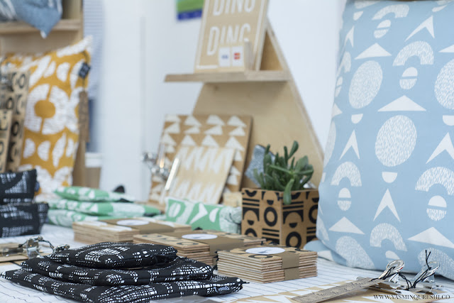 Ding Ding at the Paperdolls Handmade event. Photography by Yasmin Qureshi