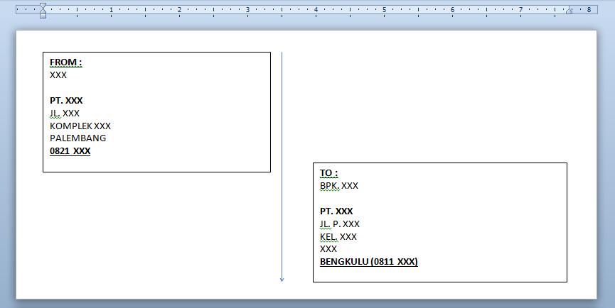 Download Format Cetak Alamat Amplop Bejos Applications