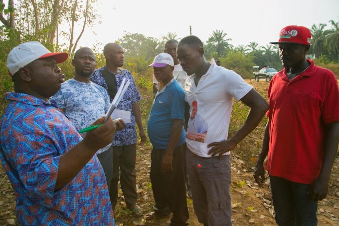 DR CHIMA ANYASO INTERVENES AND RESTORES ELECTRICITY IN HIS OPPONENT'S VILLAGE AFTER 6 MONTHS IN DARKNESS.
