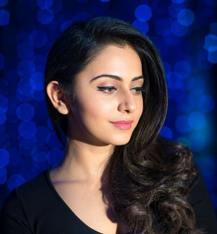 Rakul Preet Singh Latest Photoshoot In Black Dress