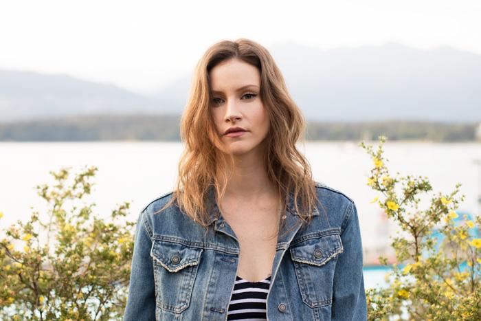 Vancouver Fashion Blogger, Alison Hutchinson in a Canadian Tuxedo