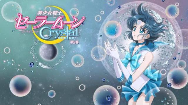 Karakter Anime Pengguna Kekuatan Elemen Air Terkuat Ami Mizuno ( Sailor Moon )