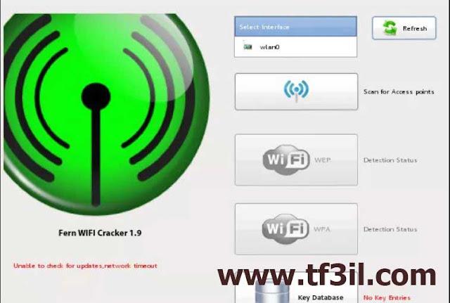 برنامج هكر واي فاي - Fern WiFi Cracker
