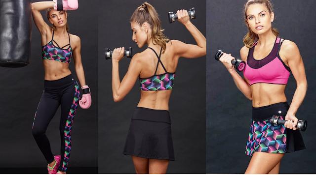 Linha Fitness,Linha Fitness DeMillus,Beleza,calça comprida,saia-short,Top para malhação,roupas para academia,lançamento DeMillus,calça para malhar DeMillus