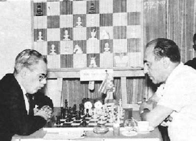 Partida de ajedrez Medina contra Lladó en 19967