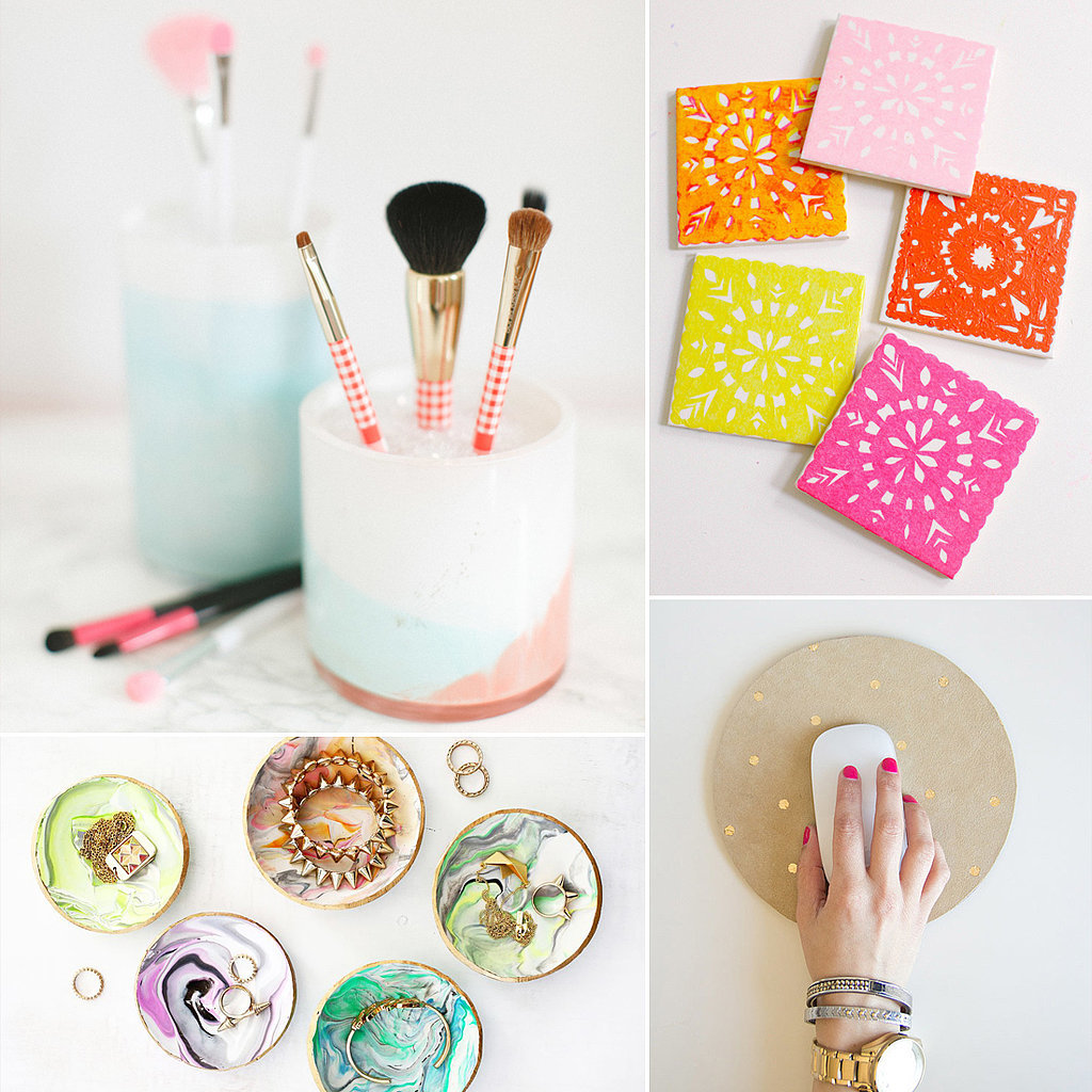 Find A Mason Jar Pot Box Etc And Paint It Glitter To Completely Transform Whatever You Are DIY Ing