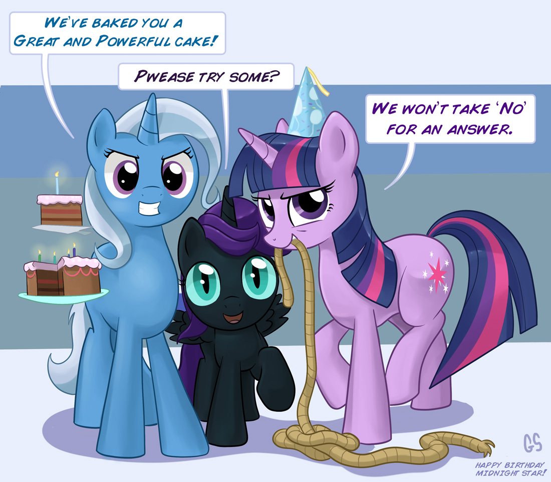 My Little Pony Birthday Quotes: Friendship Is Magic (Part 5: Trixie For