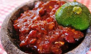 makanan enak di dunia sambal terasi