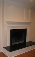 cover a brick fireplace
