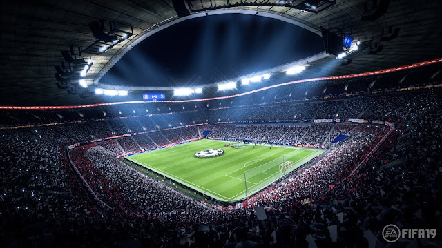 شاهد بالفيديو مباراة كاملة من داخل نسخة البيتا المغلقة للعبة FIFA 19 ..